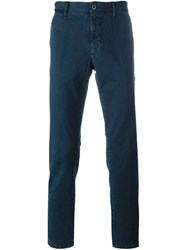 Incotex Slim Fit Chinos Blue