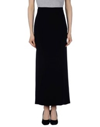 Ivan Montesi Long Skirts Black