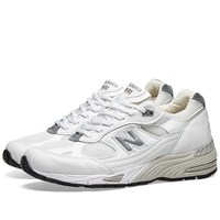 New Balance M991whi Made In England White