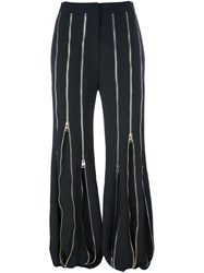 J.W.Anderson Multi Zip Pants Black