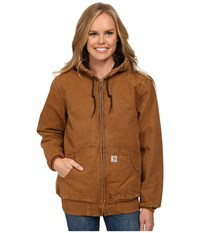 Sandstone Active Jacket Carhartt Brown Women's Coat