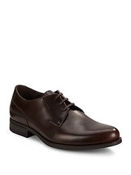 Harry's Of London Dominic Venner Leather Dress Shoe Dark Brown