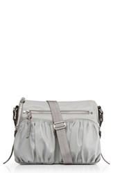 M Z Wallace Mz Paige Crossbody Bag Grey Dove Grey