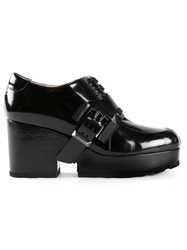 Viktor And Rolf Platform Oxford Boots Black