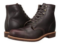Chippewa 6 Homestead Pebbled Boot Cordovan Full Grain Leather Men's Work Boots Brown