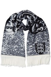 Y Project Edward Joan Scarf With Cotton Grey