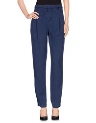E Go Trousers Casual Trousers Women Dark Blue