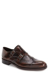 Donald J Pliner Men's 'Ziggy' Double Monk Strap Shoe