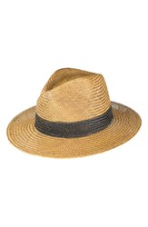 Peter Grimm Cayenne Straw Resort Hat Brown Light Brown