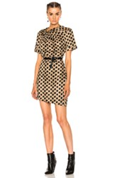 Etoile Isabel Marant Jade Printed Cotton Dress In Abstract Black Brown Neutrals Abstract Black Brown Neutrals