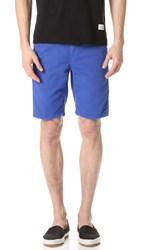 Rag And Bone Standard Issue Shorts Bright Blue