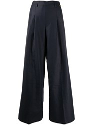 Twin Set Front Pleat Flared Trousers 60