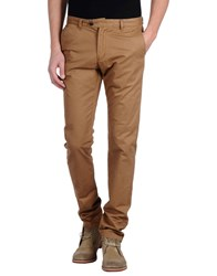 Scotch And Soda Trousers Casual Trousers Men Camel