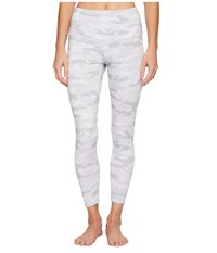 Onzie High Basic Capris Gray Camo Women's Capri Multi