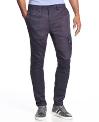 Sean John Slim Fit Coated Jogger Jeans Coated Indigo