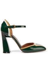 Marni Patent Leather Pumps Green