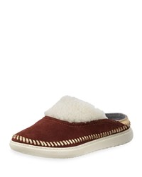Cole Haan 2.Zerogrand Convertible Suede Slipper Mules Woodbury