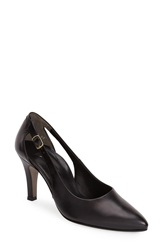 Paul Green 'Contessa' Cutout Pump Women Black Leather