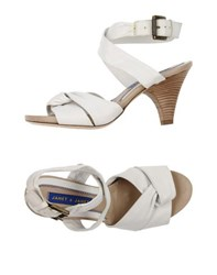 Janet And Janet Footwear Sandals Women White