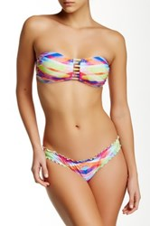 Seafolly Prismatic Bow Back Mini Hipster Bottom Multi