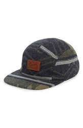 Pendleton Jacquard Baseball Cap Grey Winding River Slate