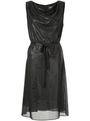 Hysteric Glamour Flared Dress Polyester Black