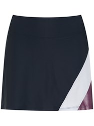 Track And Field Workout Skirt Blue