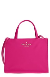 Kate Spade New York Watson Lane Sam Nylon Satchel Pink Sweetheart Pink