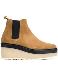 Pierre Hardy Platform Chelsea Boot Brown