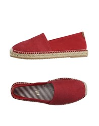 J.W. Tabacchi Footwear Espadrilles Men Red