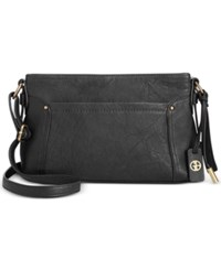Giani Bernini Sandalwood Crossbody Only At Macy's Black