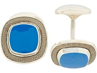 Deakin And Francis Cushion Cufflinks Royal Blue