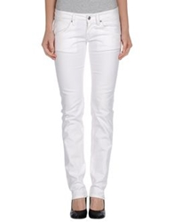 Two Women In The World Casual Pants White