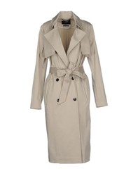 Set Coats And Jackets Full Length Jackets Women Beige
