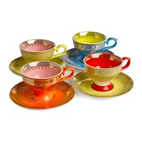 Pols Potten Grandma Espresso Set Set Of 4