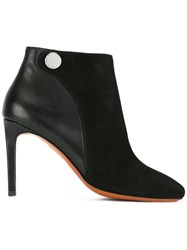 Carven Stiletto Ankle Boots Black