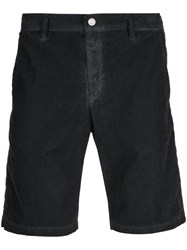 Massimo Alba Vela Watercolor Shorts Black