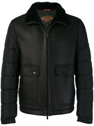 Tod's Padded Jacket Black