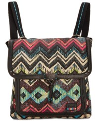 The Sak Pacifica Printed Convertible Medium Backpack A Macy's Exclusive Style La Jolla Multi