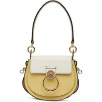 Chloe Yellow And White Small Tess Bag