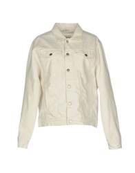 Misbhv Denim Outerwear White