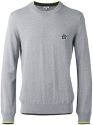Kenzo Long Sleeve Sweater Grey
