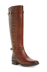Vince Camuto Women's 'Preslen' Riding Boot Brown Leather