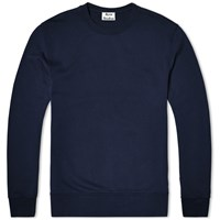 Acne Studios Casey Crew Sweat Blue
