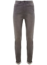 Mint Velvet Asheville Grey High Waist Skinny Jean