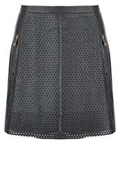 Morgan Jonya Mini Skirt Noir Black