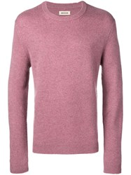 Zadig And Voltaire Slim Fit Cashmere Jumper Pink