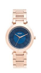 Dkny Stanhope Watch Rose Gold