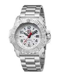Luminox 3250 Series Bracelet Watch Silver