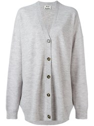Acne Studios Oversized Cardigan Women Wool M Grey
